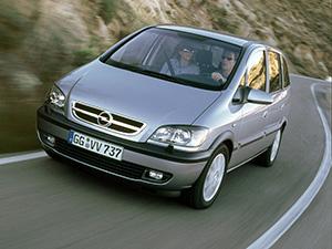 Opel Zafira 5 дв. минивэн (F75)