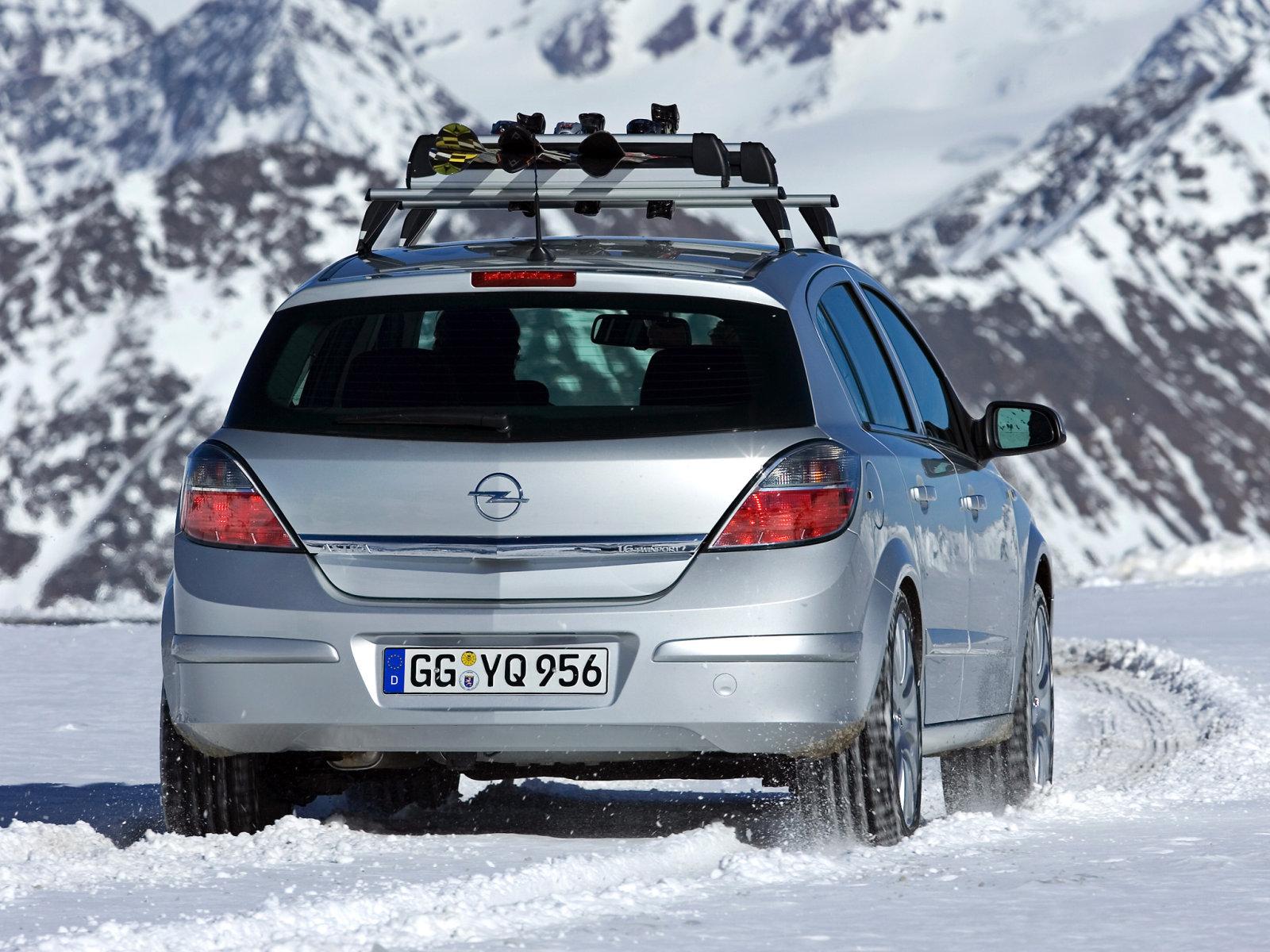 Opel (Опель) Astra (H) 2007-2009 г.