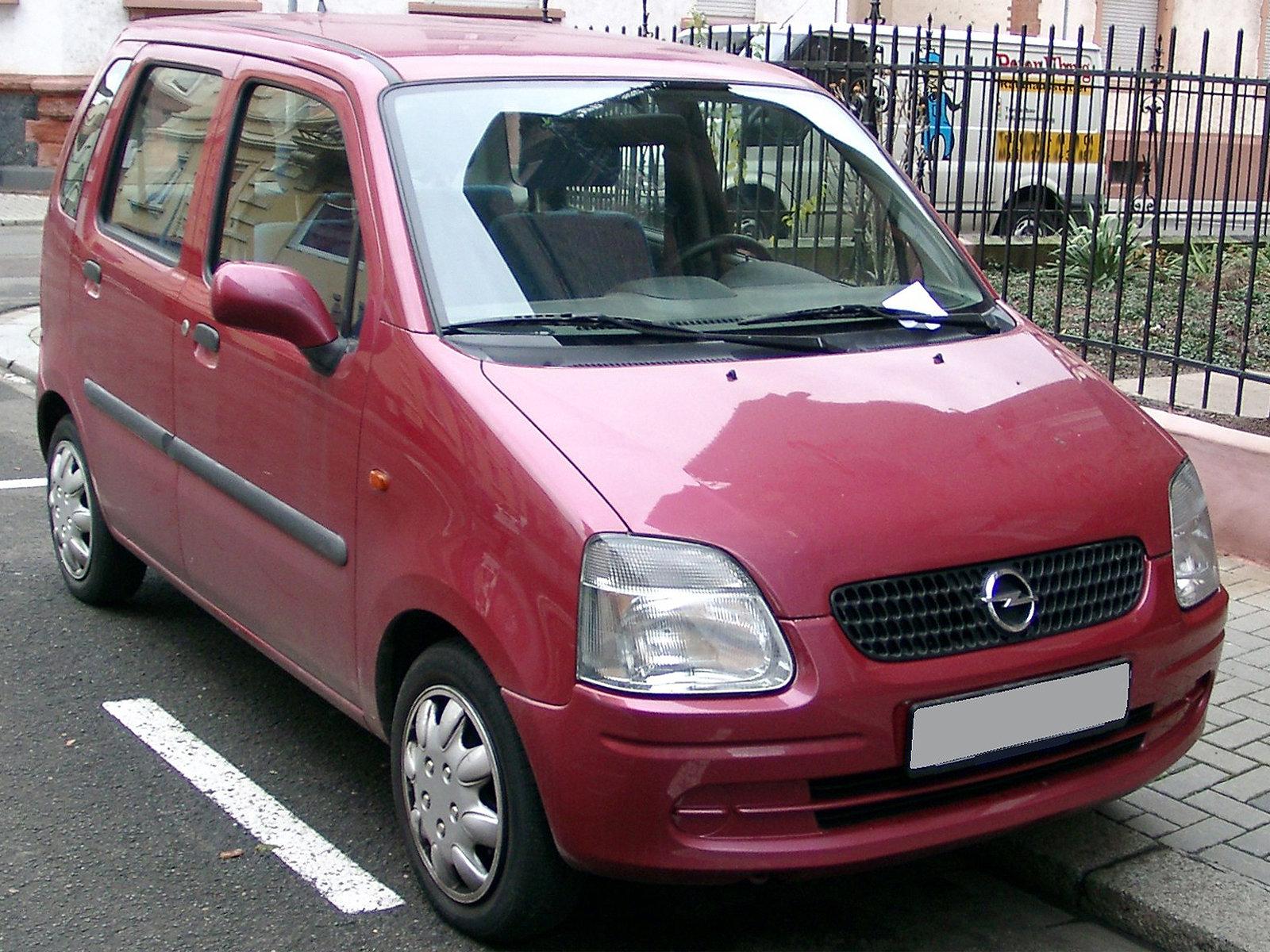 Opel (Опель) Agila (H00) 2000-2003 г.