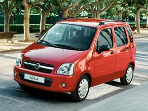 Opel Agila 5 дв. минивэн (H00)