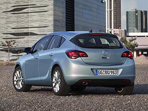 Opel Astra 5 дв. хэтчбек (J)