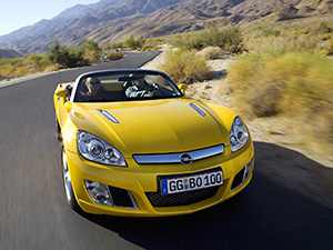 Opel GT 2 дв. кабриолет (K;R)