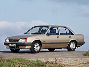Opel Record 4 дв. седан Record