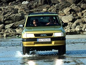 Opel Frontera 3 дв. внедорожник Sport (A)