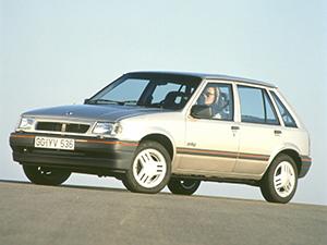 Технические характеристики Opel Corsa 1.4i 1990-1993 г.