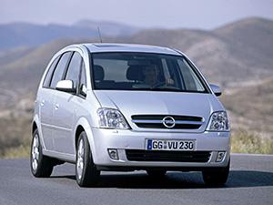 Технические характеристики Opel Meriva 1.8-16V 2003-2005 г.