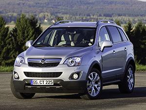 Технические характеристики Opel Antara