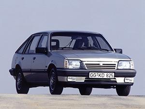Технические характеристики Opel Ascona