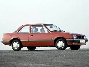 Технические характеристики Opel Ascona 1.6 1984-1988 г.