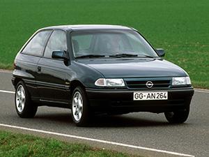 Технические характеристики Opel Astra 1.6i 1991-1994 г.