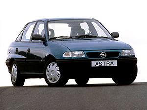 Технические характеристики Opel Astra 1.6i 1994-1998 г.