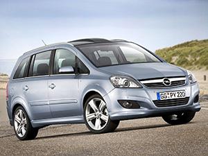 Технические характеристики Opel Zafira 1.8 2008-2011 г.