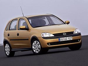Технические характеристики Opel Corsa 1.7 DTi-16V 2000-2003 г.
