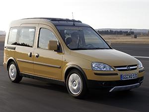 Технические характеристики Opel Combo 1.4 2004-2012 г.