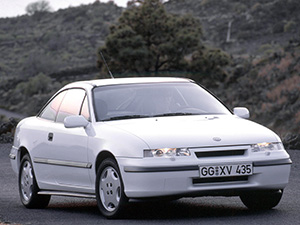 Технические характеристики Opel Calibra