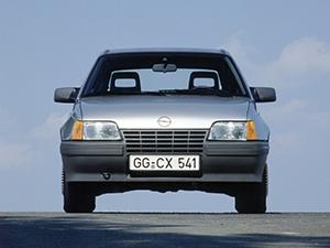 Технические характеристики Opel Kadett 1.6i 1984-1989 г.