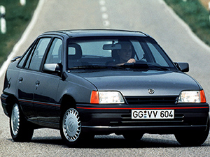 Технические характеристики Opel Kadett 1.3 NE 1989-1991 г.