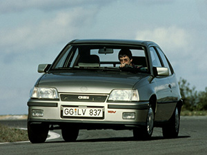 Технические характеристики Opel Kadett 1.3i 1989-1991 г.