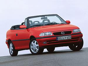 Технические характеристики Opel Astra Cabrio 1.6i 1995-1999 г.