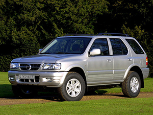 Технические характеристики Opel Frontera