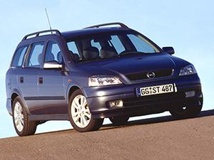 Технические характеристики Opel Astra Stationwagon 1.6i 1998-2004 г.