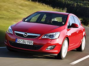 Технические характеристики Opel Astra 1.6 Turbo 2010-2012 г.