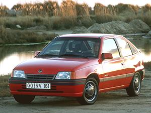 Технические характеристики Opel Kadett