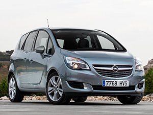 Технические характеристики Opel Meriva