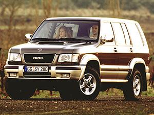 Технические характеристики Opel Monterey