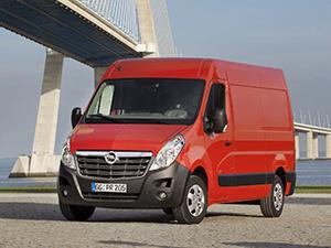 Технические характеристики Opel Movano