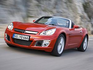 Технические характеристики Opel GT