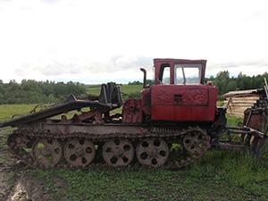 ОТЗ ТДТ 1 дв. трактор ТДТ 55