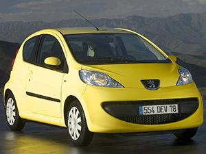 Peugeot 107 3 дв. хэтчбек 107 (PN)