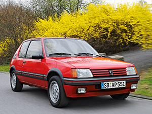 Peugeot 205 3 дв. хэтчбек 205