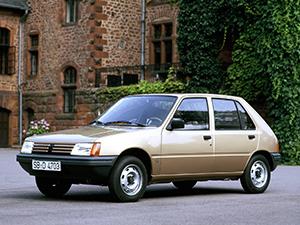 Peugeot 205 5 дв. хэтчбек 205