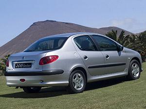 Peugeot 206 4 дв. седан 206