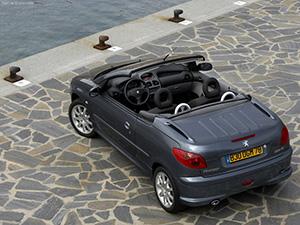 Peugeot 206 CC 2 дв. кабриолет 206 CC (2D)