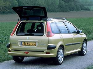 Peugeot 206 5 дв. универсал SW (2E;2K)