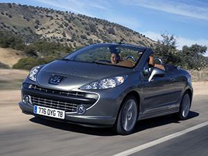 Peugeot 207 СС 2 дв. кабриолет (WB)
