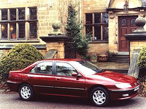 Peugeot 406 4 дв. седан 406