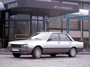 Peugeot 505 4 дв. седан 505