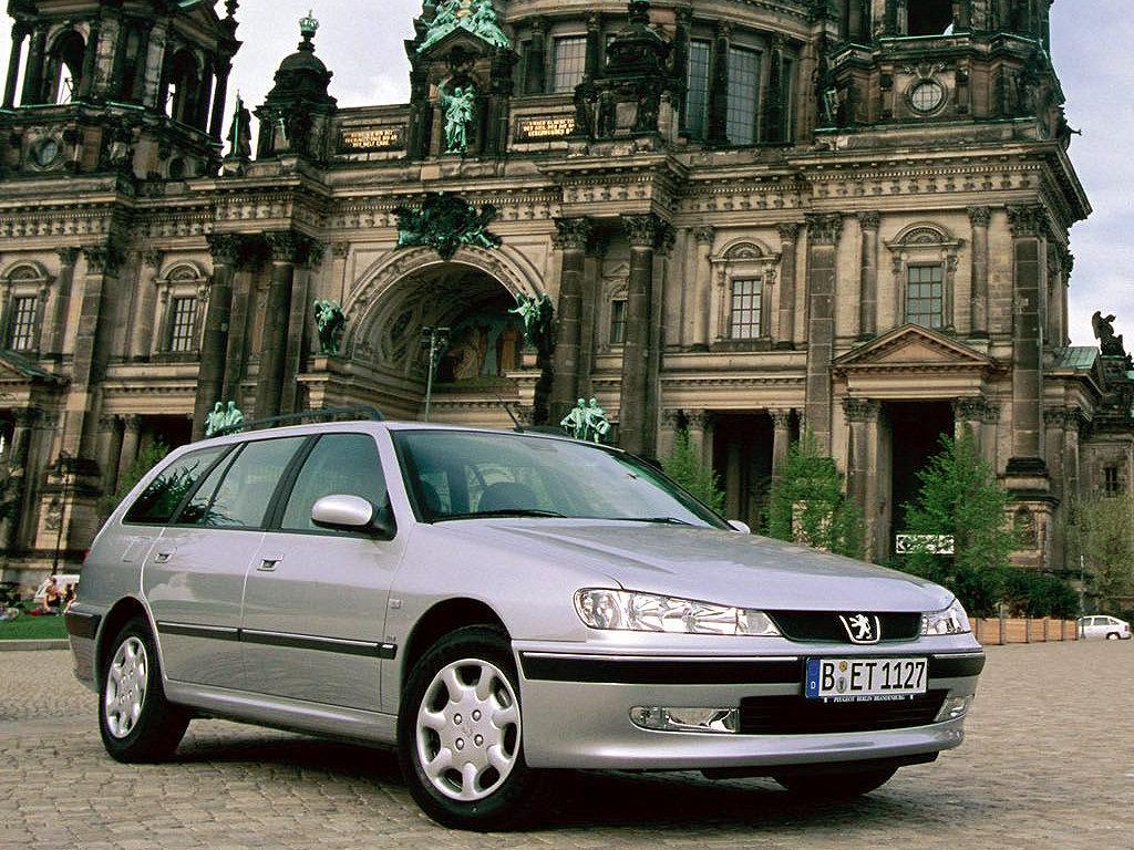 Peugeot (Пежо) 406 Break 2002-2004 г.