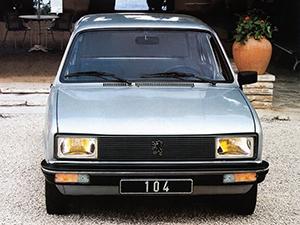 Peugeot 104 5 дв. хэтчбек 104