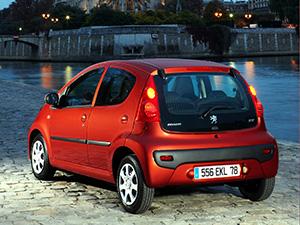 Peugeot 107 5 дв. хэтчбек 107 (PM)