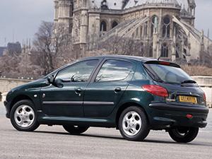 Peugeot 206 5 дв. хэтчбек 206