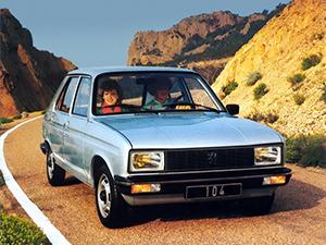 Технические характеристики Peugeot 104