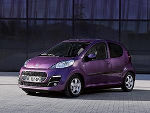 Технические характеристики Peugeot 107