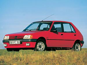 Технические характеристики Peugeot 205