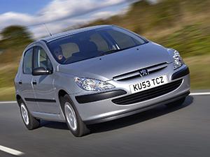 Технические характеристики Peugeot 307 1.4 HDI 2001-2005 г.