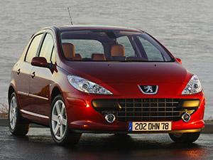 Технические характеристики Peugeot 307